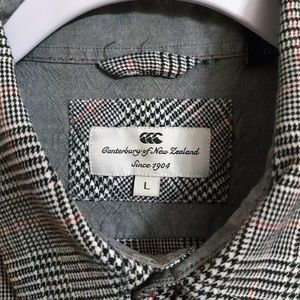 Canterbury of New Zealand Shirts - Canterbury of New Zealand Flannel Shirt